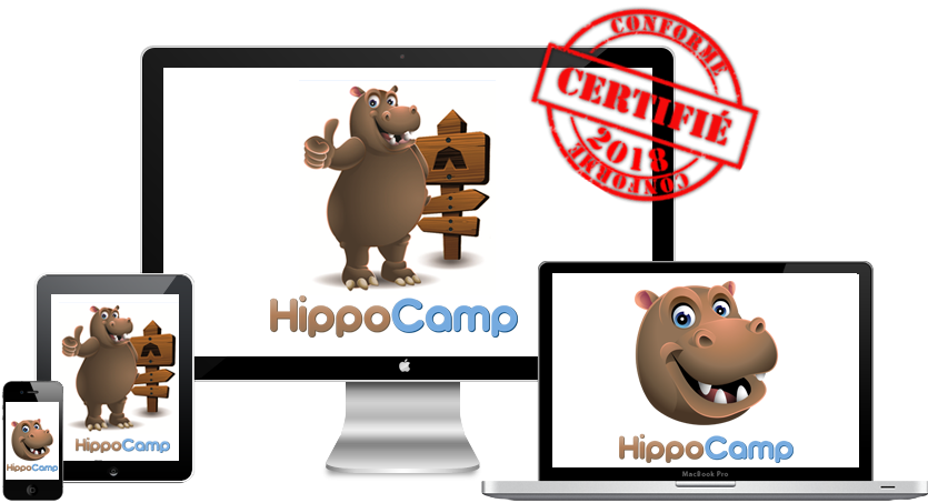 Logiciel gestion camping Hippo-camp
